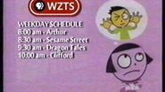 WZTS schedule bumper (Dot's Cat Dream) (February 2002 MOCK)