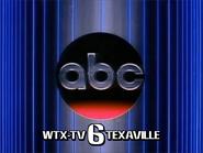 WTX ID 1982 with ABC Logo
