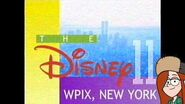 WPIX station ID (The Disney Network) (1995-2001 MOCK)