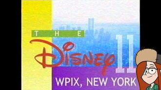 WPIX station ID (The Disney Network) (1995-2001 MOCK)