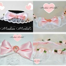 Madam Morbid Lolita Choker collage