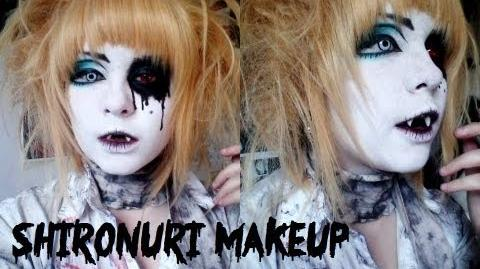My Shironuri Makeup