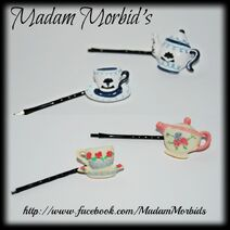 Tea Set Pins Collage