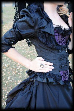 Madam Morbids Gothic Victorian Steampunk Ring