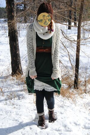 Mori Girl Forest Tree Snow