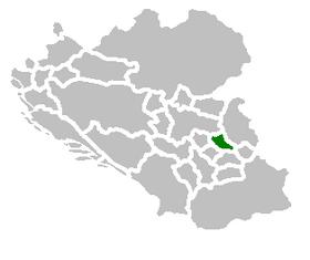 SAO Nisava map