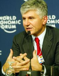Zoran Đinđić, Davos