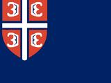 Flag of Serbia (Three World Orders)