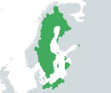 Alternate Map of the Swedish Empire, 1672