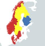 Alternate Map of the Treaty of Abo