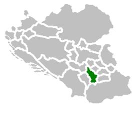 SAO Kosovo map