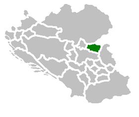 SAO Branicevo map