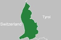 Location Liechtenstein