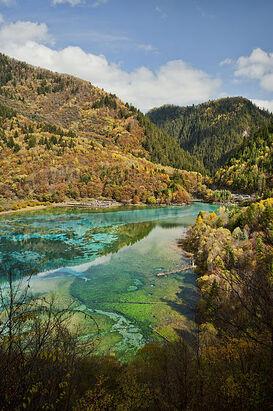 399px-1 jiuzhaigou valley national park wu hua hai