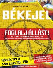 Bekejel 2004 marc20 plakat