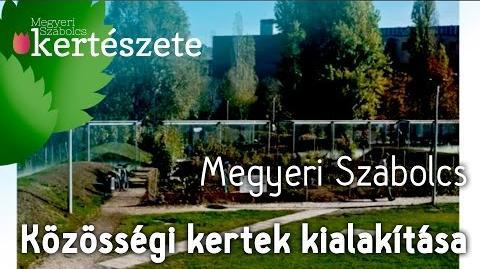 Közösségi kertek kialakítása - Közösségi kertek tervezése