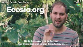 Ecosia kereső - már 40 millió ültetett fa!