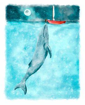Illustration-Whale