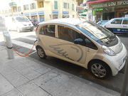 Electric Car Share in Nice (France)