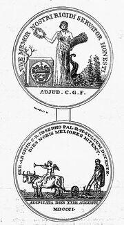 Georgikon emlékérem 1897 -43