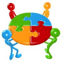 Teamwork puzzle
