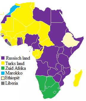 De Drie Tijden, Afrika in 1920