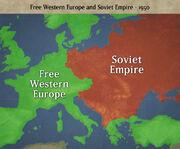 EUROPESOVIETEMPIRE1950