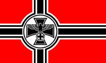 Reichsflagge des Deutschen Reiches