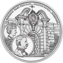 2004 Austria 10 Krone The Castle of Artstetten back