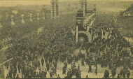 Crowd awaiting Crown Prince Tokyo Dec1916