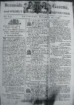 Bermuda Gazette - 12 November 1796