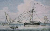 Bermuda sloop - privateer