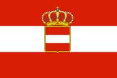 Flag of Austria-Hungary 1952-present