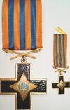 Орден Бойової Заслуги 1 ступеня і фрачник