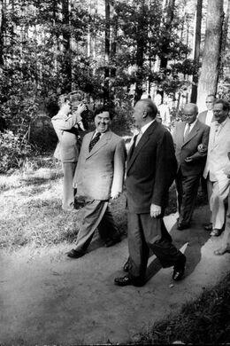 Маленков и Аденауэр