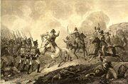 Battle of Lutzen 1813 by Fleischmann