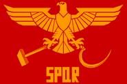Soviet roman flag by domain of the public-d73cxtz
