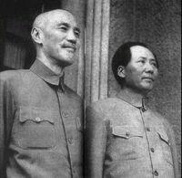 重慶會談 蔣介石與毛澤東