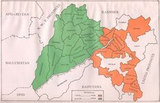 Punjab mapa