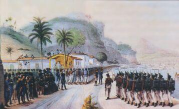 Tropas brasileiras 1825