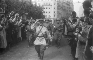 Советская Армия в Белграде