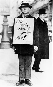 Arbeitsloser 1930