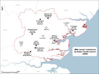 ECC mills Map 2009