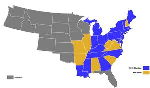 US presidential election 1840 The United American Empire Of The