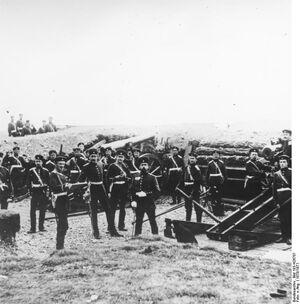 Bundesarchiv Bild 183-H26707, Deutsch-französischer Krieg 1866-67, Konigsberg, Belagerung