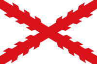Flag of Cross of Burgundy