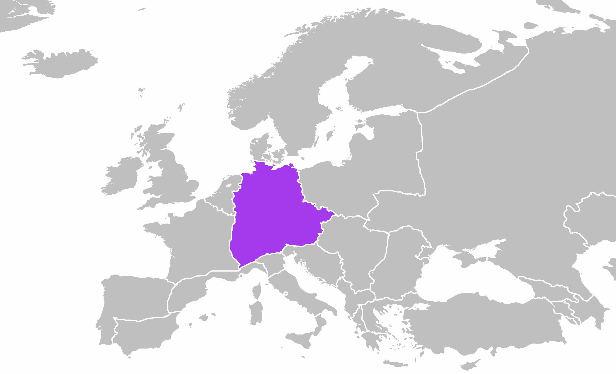 Sacro Imperio Romano Germánico (Mundo sin América)   Historia ...