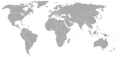 World Map 1950