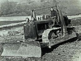 1948 Bulldozer Lower Bevendean Estate-w