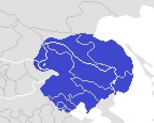 Location of Manchukuo (Yellowstone 1936)